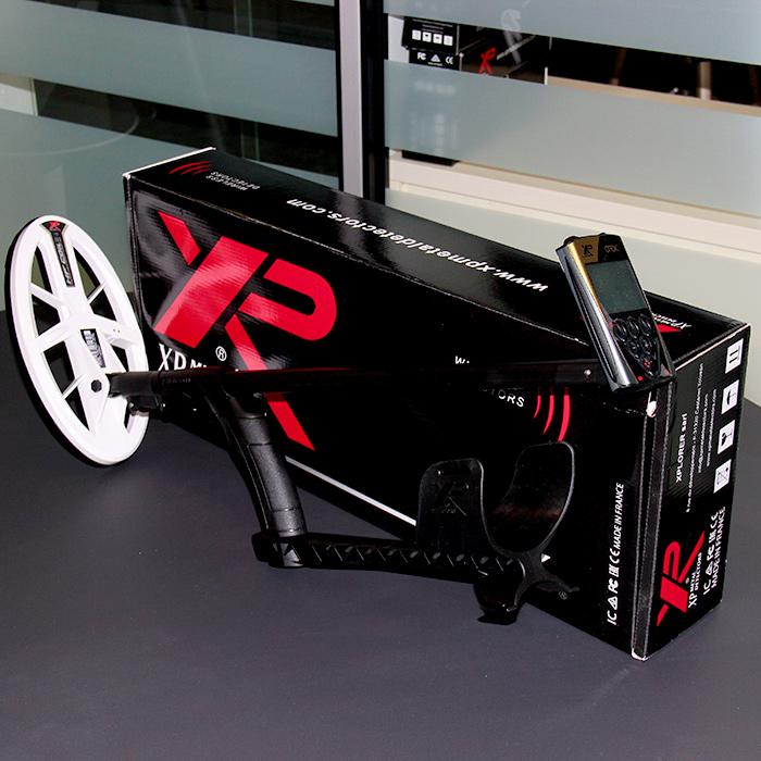 Металлоискатель XP ORX в комплектации с блоком управления и катушкой HF 24X13 см. Фотография всей комплектации