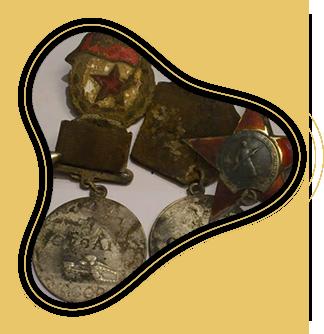 Поиск военных трофеев и других старинных артефактов