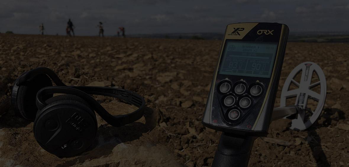Металлоискатель XP ORX на поле (рабочий момент)