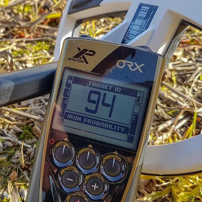 Металлоискатель XP ORX в комплектации ORX22 на поле