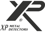 Логотип XP Detectors в черном цвете